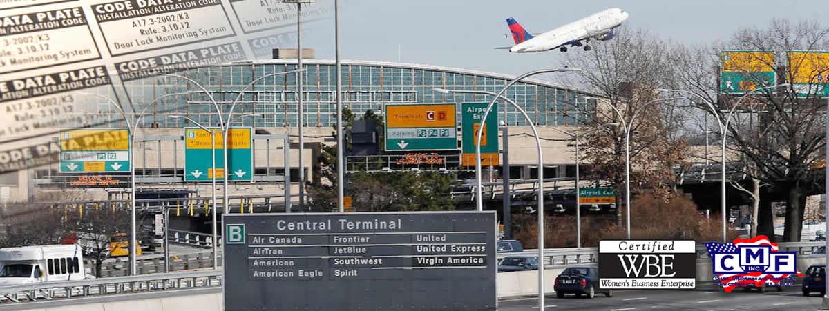 Airport signage - CMF